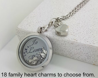 7776aaccc Cremation Jewellery - Ashes Keepsake - Urn Necklace Dad - Ashes Locket Mum  - Memory Of Son - Memorial Jewelry - Cremation Locket Urn Locket