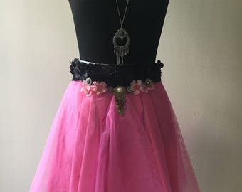 Jewelry Pink Tulle Skirt