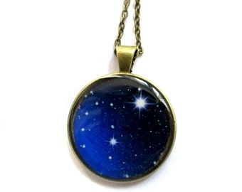 MILKY WAY NECKLACE - Astronomer Gift for Astronomer - The Universe - Space Jewelry - Astronomy Pendant - Astronomy Jewelry - Space Necklace