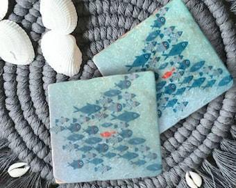 Tile Stromschwimmer blue