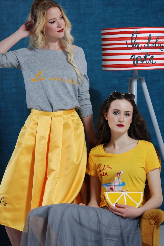 Women's Summer Sweater La Dolce Vita Grey image 0