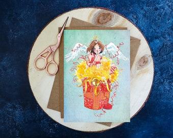 Postcard Gift Angel