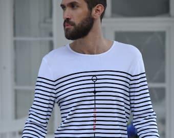 Longsleeve Stripe Men Bootsmann