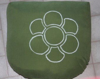 Hand Painted Seat Cushion