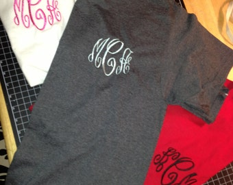 2 Monogrammed Tshirt bundle