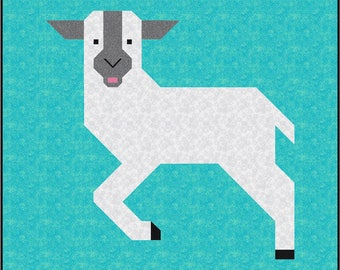0dd1eb062d20e1 Little Lamb Quilt Pattern