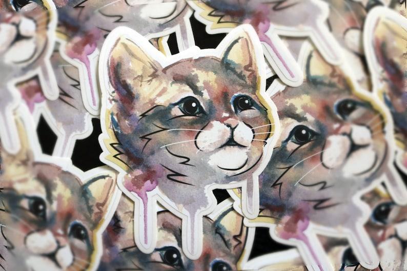 Cat Sticker  Bella image 0