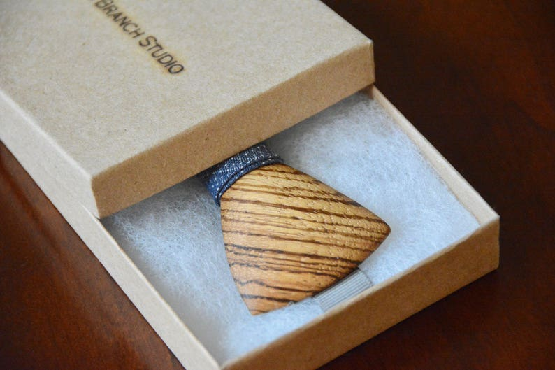 Unique Bow Tie For Groomsmen /& Groom Zebrawood Wooden Bow Tie Handmade Wood Bowtie From Exotic Wood Handcrafted Wooden Bow Ties For Men.