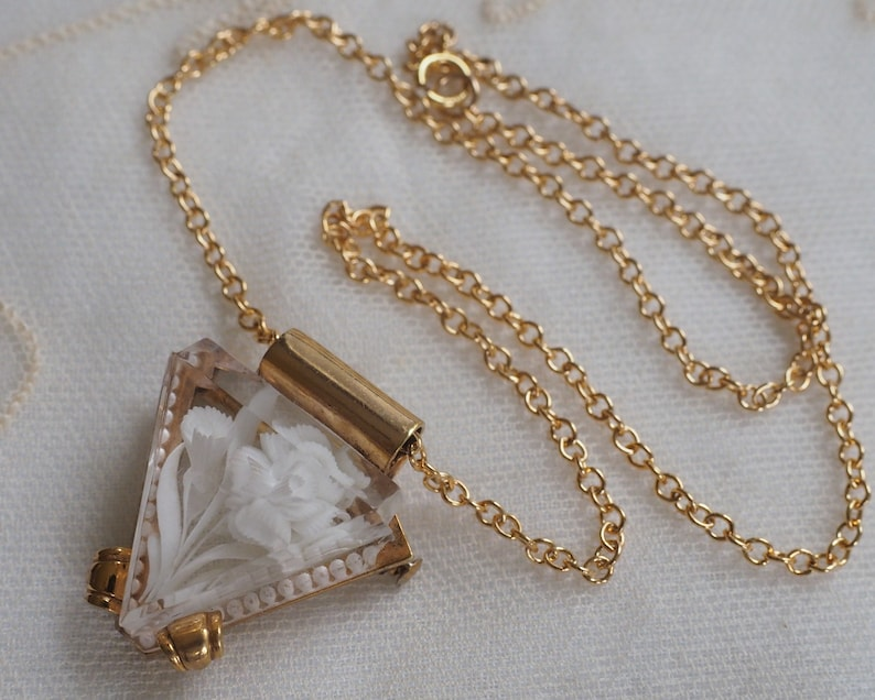 Rencontres collier antique fermoirs