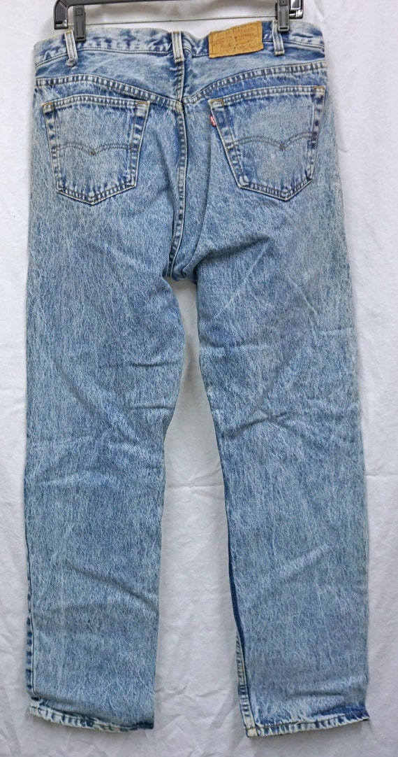Made In USA Levis 501 36x31.75 Vintage - image 5