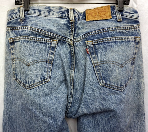 Made In USA Levis 501 36x31.75 Vintage - image 4