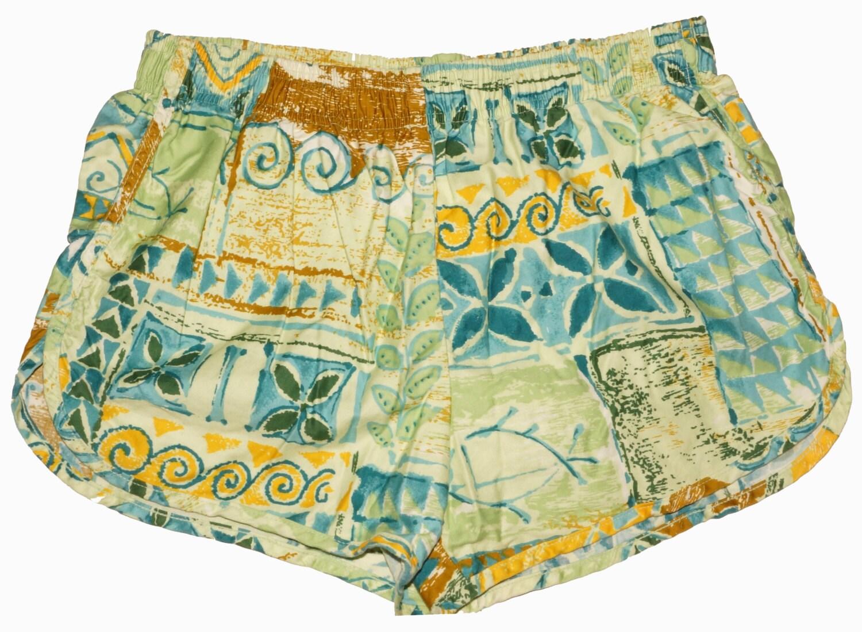 1950s Mens Suits & Sport Coats   50s Suits & Blazers 1950S Hawaiian Swim Suit Trunks Sz L Vintage $50.00 AT vintagedancer.com