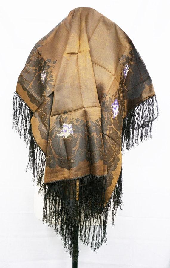 1894 Wedding Shawl Antique Scarf