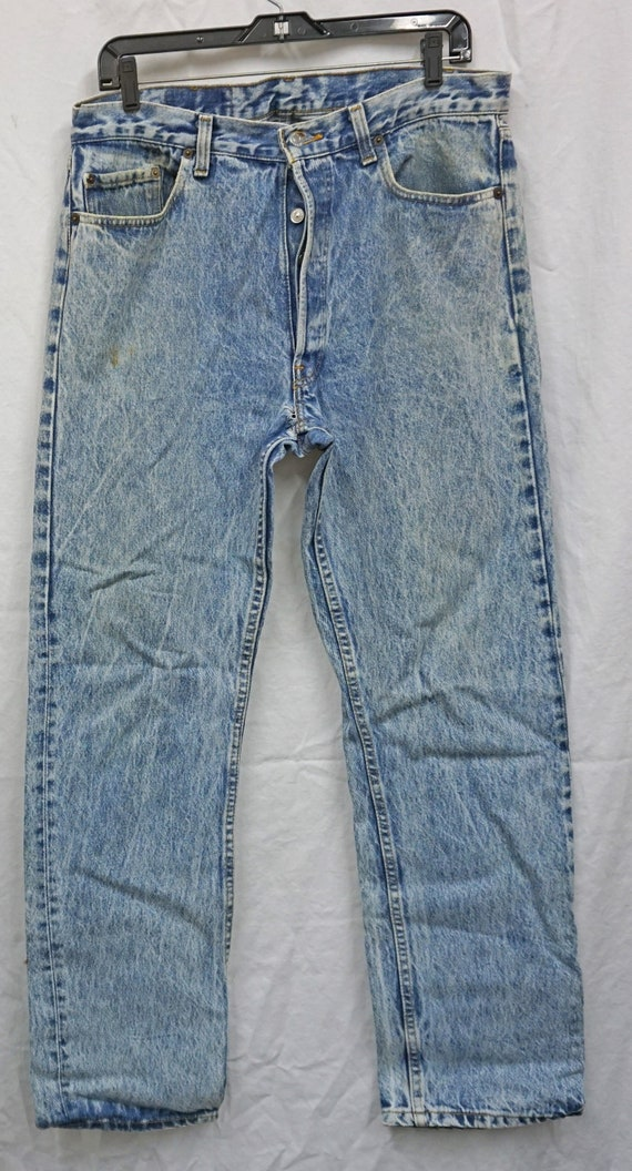 Made In USA Levis 501 36x31.75 Vintage - image 3