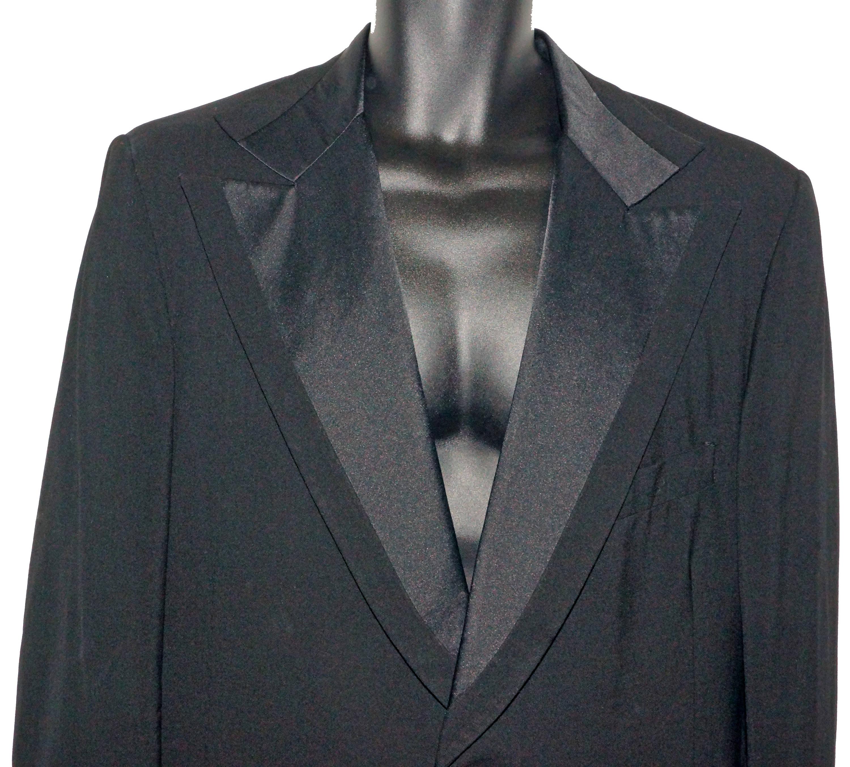 1950s Men's Ties, Bow Ties – Vintage, Skinny, Knit 1950S Lord West Tuxedo 42L Vintage Wedding Prom $150.00 AT vintagedancer.com