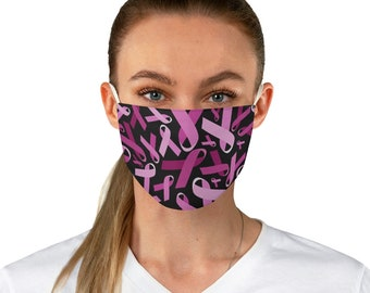 Breast Cancer Awareness Fabric Face Mask