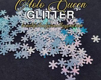 Christmas Snowflake Chunky Glitter