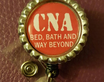 CNA Retractable Badge Holder