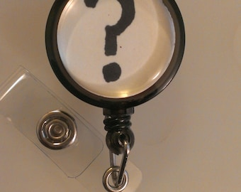 Your Choice of Image Retractable Name Badge Holder Reel
