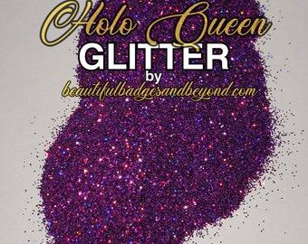 Holographic fine glitter