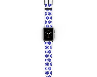 EMT EMS Paramedic Star of Life Watch Band