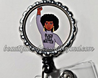 Black Lives Matter, African  American, retractable reels