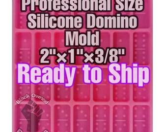 Professional Size SHINY Silicone Domino Mold