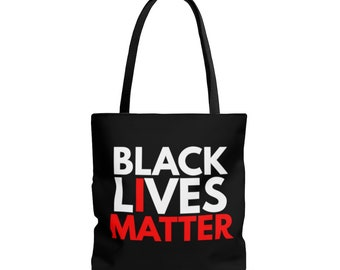 Black Lives Matter AOP Tote Bag