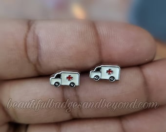 Paramedic EMT EMS Ambulance Earrings