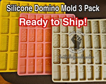 Silicone Domino Mold 3 Pack
