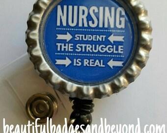 Nursing Student Retractable Name Badge Holder Reel #2