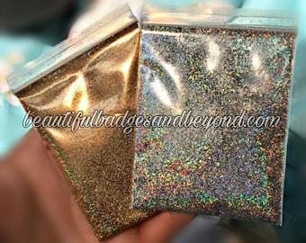 Holographic Silver Fine Glitter
