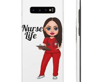 Nurse Life RN Scrubs Snap Cases phone