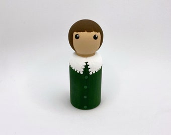 Berries and Cream Little Lad Collectible Figurine Home Decoration Hand Painted  Minimalist Art