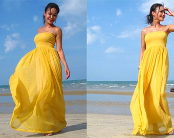 Yellow wedding dress | Etsy