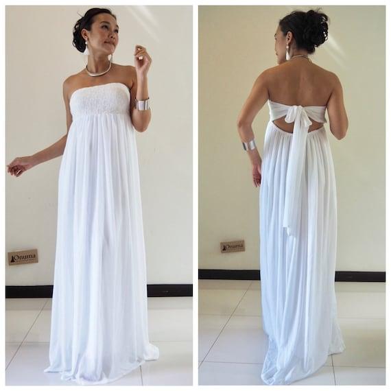 Suknia ślubna Biała Sukienka Sukienka Koronka Biała Etsy