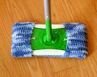 Save the landfill with this Swiffer wet and dry mop cover, eco-friendly mop cover, 100% cotton, absorbent and durable