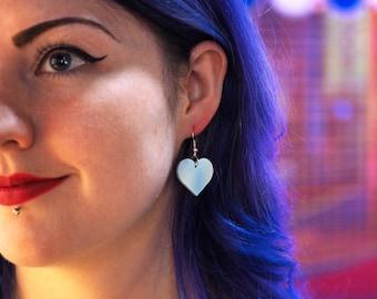 Heart Earrings, Heart Jewellery, Laser Cut Earrings, Love Jewellery, Earrings, Gifts for her, Acrylic Earrings, Festival Fashion, jewellery