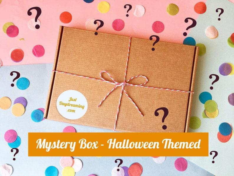 Halloween Themed Mystery Box Spooky Lucky Dip Box Mystical image 0