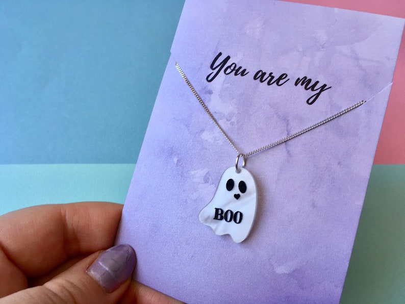You're my Boo Necklace Wedding Jewellery Girlfriend image 0