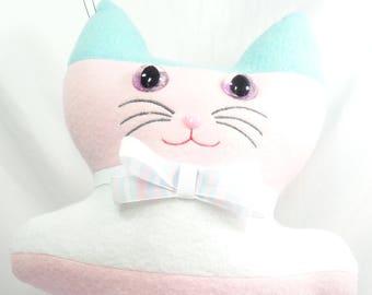 Transgender Pride Flag Kitty Plushie