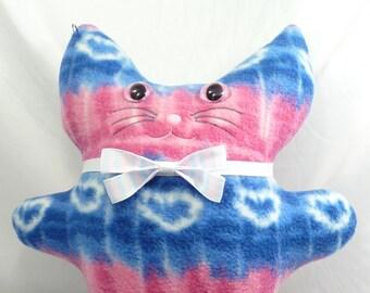 Transgender Pride Kitty Plushie