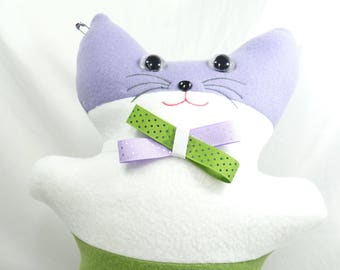 Gender Queer Pride Flag Kitty Plushie