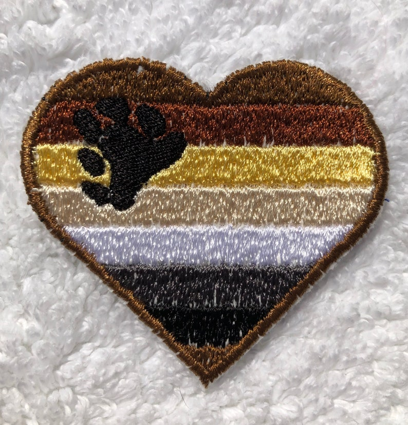LGBTQA  Bear Brotherhood Pride Patch image 0