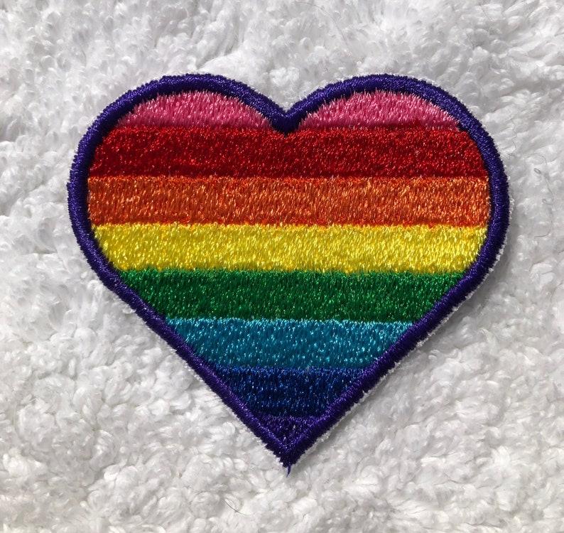 LGBTQA  Baker Rainbow Pride Patch image 0