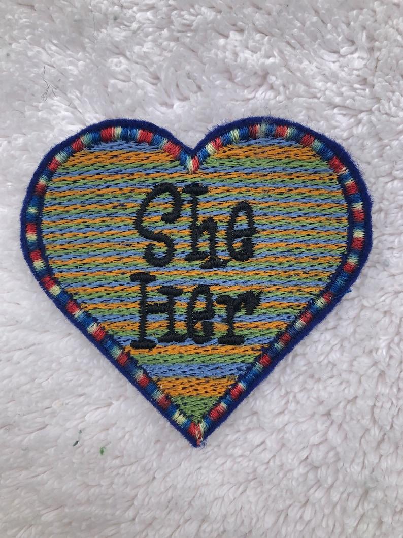 LGBTQA  Pride She Pronoun Patch image 0