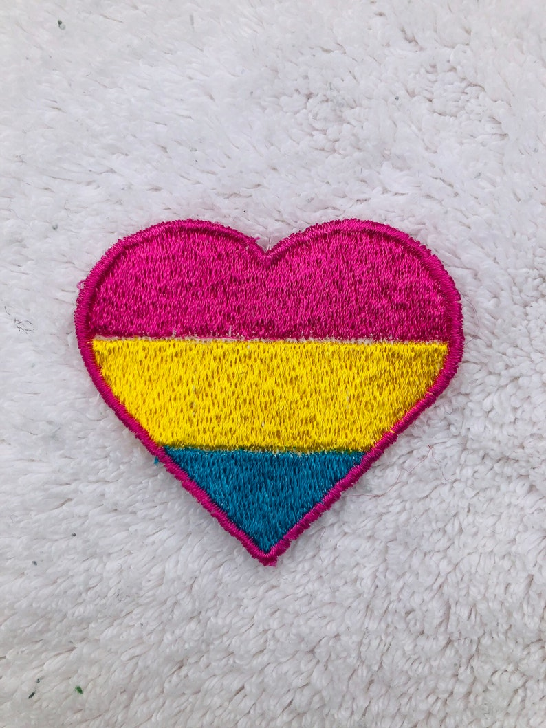 LGBTQA  Pride Pansexual Patch image 0