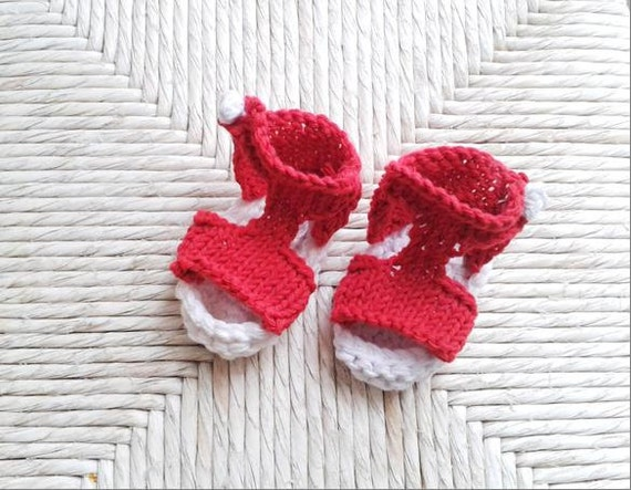 Instant Download Knitting Pattern For Baby Summer Sandals Etsy