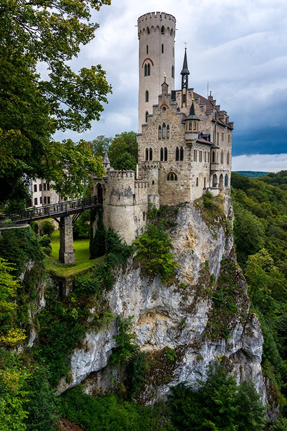 Lichtenstein Castle Black Forest Germany Photography  Etsy-1364