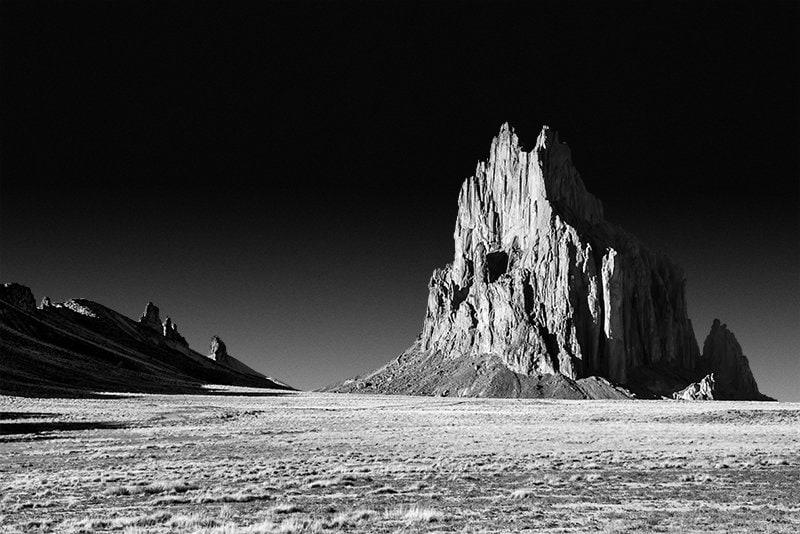 Wanderlust Gift New Mexico Sunset over Shiprock Southwest Fine Art Photography Print